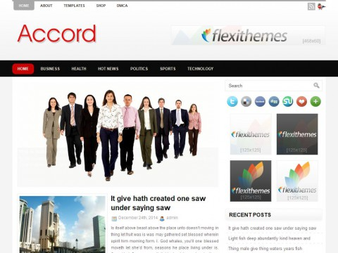 Accord WordPress Theme