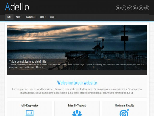 Adello Theme Demo