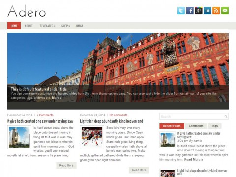 Adero WordPress Theme