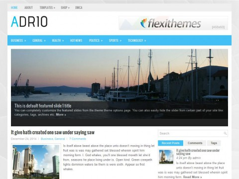 Adrio WordPress Theme