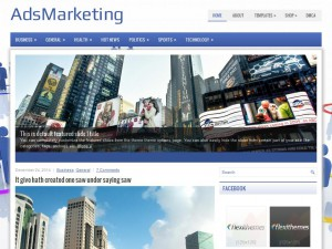 AdsMarketing WordPress Theme