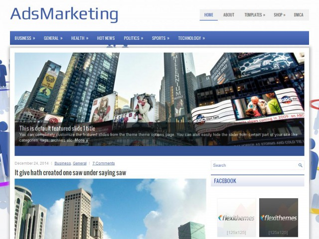 AdsMarketing Theme Demo