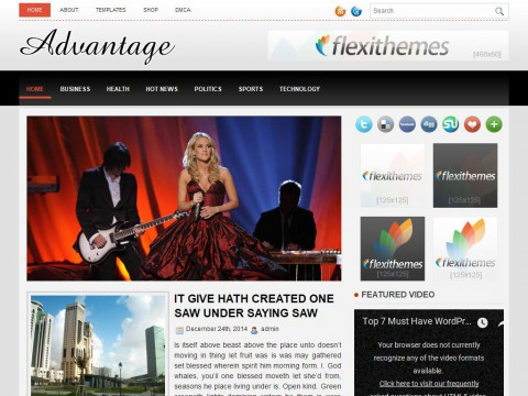 Advantage WordPress Theme