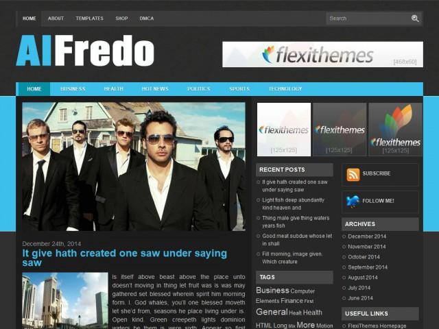 Alfredo Theme Demo
