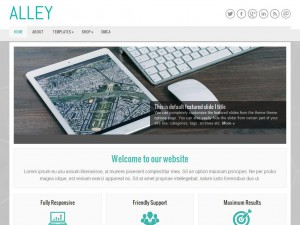 Alley WordPress Theme