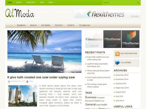 Almoda WordPress Theme