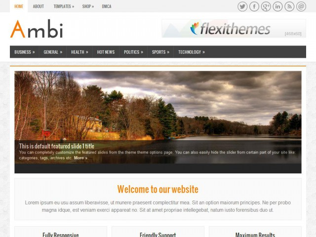 Ambi Theme Demo