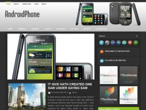 AndroidPhone WordPress Theme