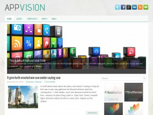 AppVision WordPress Theme