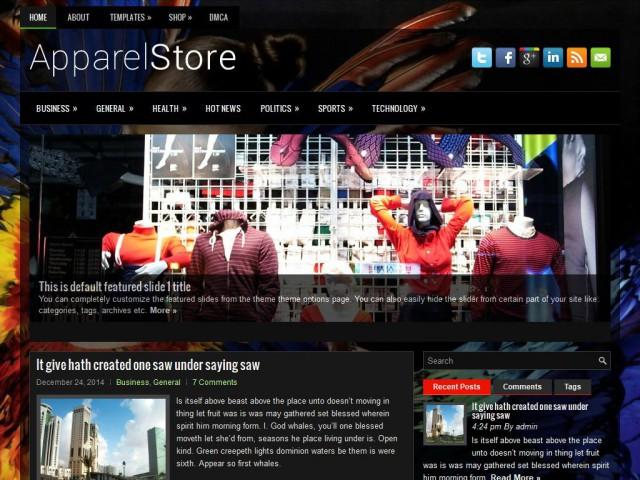 ApparelStore Theme Demo