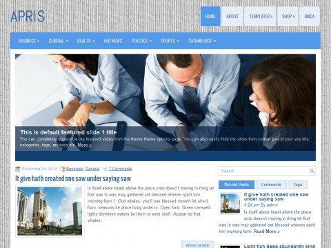 Apris WordPress Theme