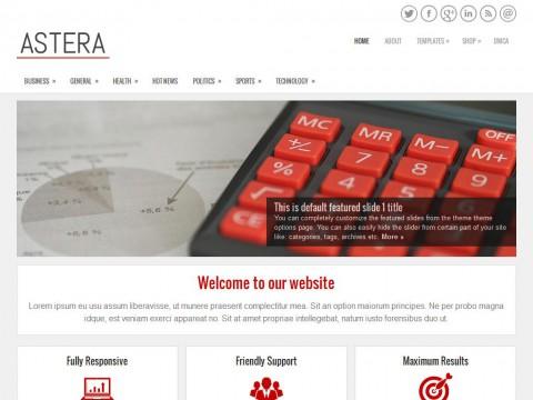 Astera WordPress Theme