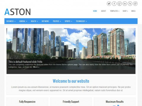 Aston WordPress Theme