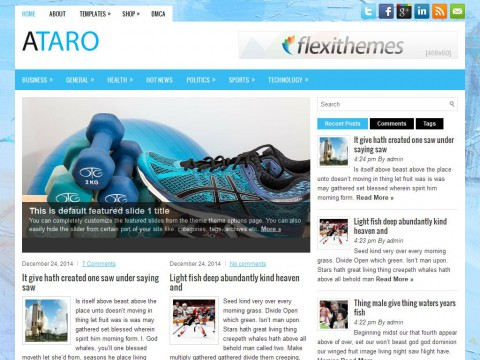 Ataro WordPress Theme
