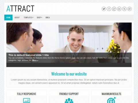 Attract WordPress Theme