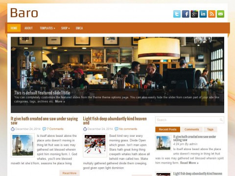 Baro WordPress Theme