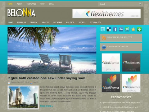 Belonna WordPress Theme