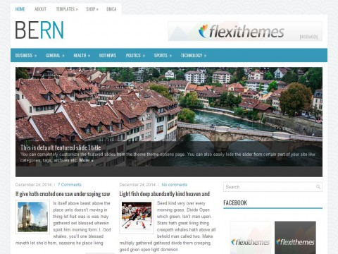 Bern WordPress Theme