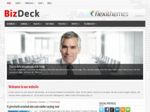 BizDeck WordPress Theme