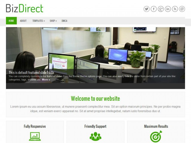 BizDirect Theme Demo