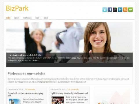 BizPark WordPress Theme