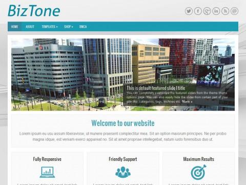 BizTone WordPress Theme
