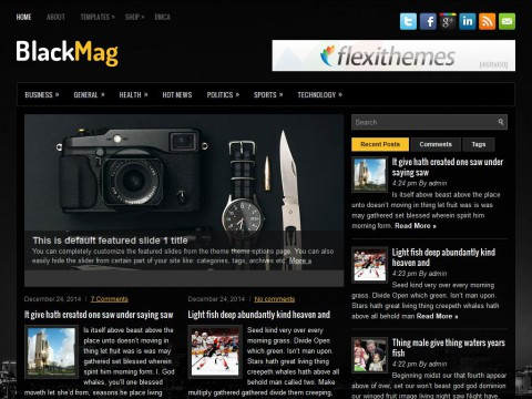 BlackMag WordPress Theme