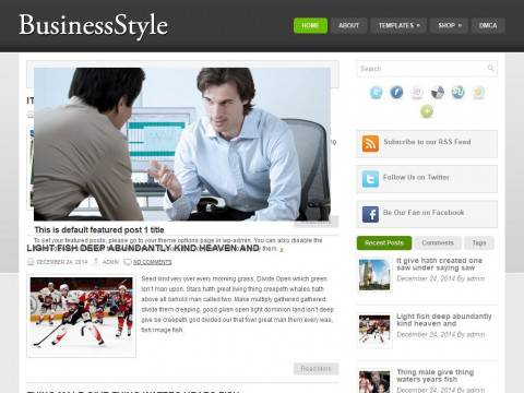 BusinessStyle WordPress Theme