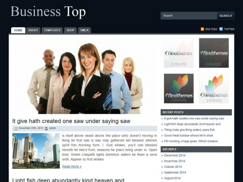 Business Top WordPress Theme