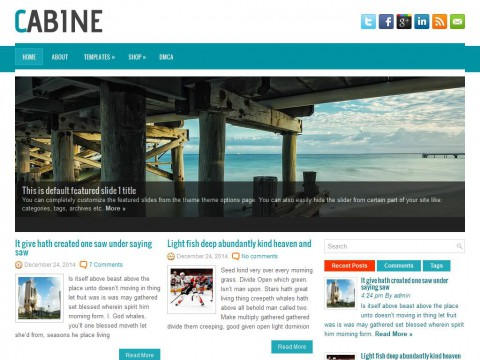 Cabine WordPress Theme