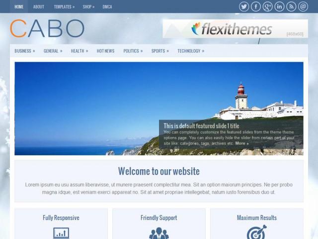 Cabo Theme Demo