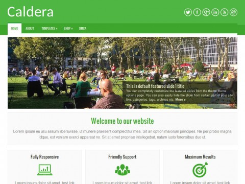 Caldera WordPress Theme