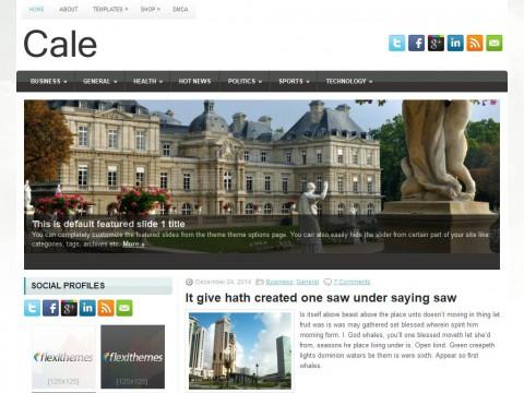 Cale WordPress Theme