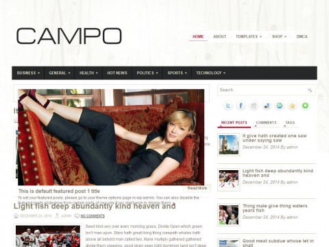 Campo WordPress Theme
