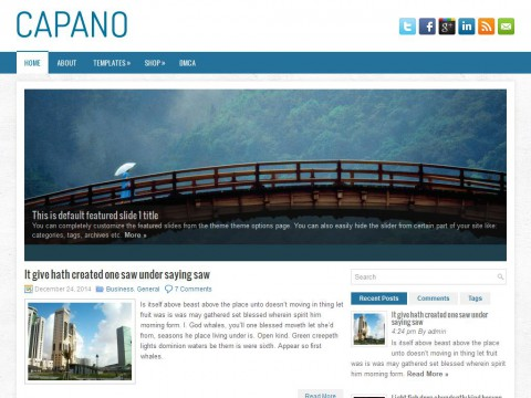 Capano WordPress Theme