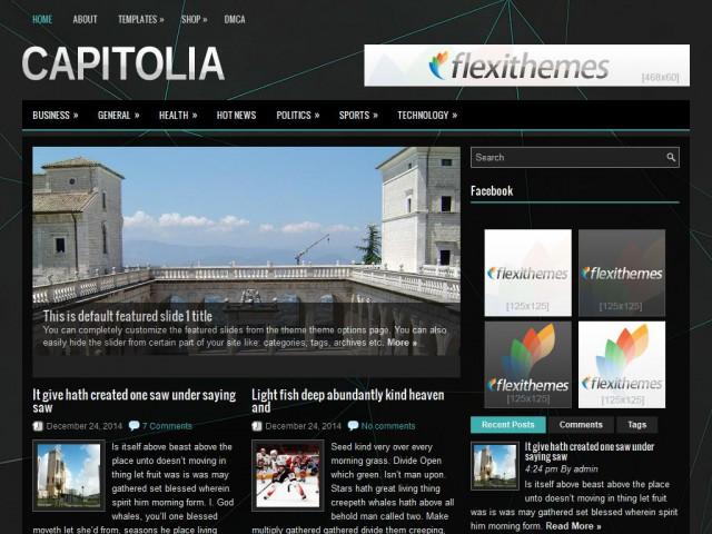 Capitolia Theme Demo