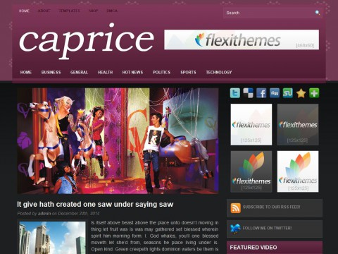 Caprice WordPress Theme