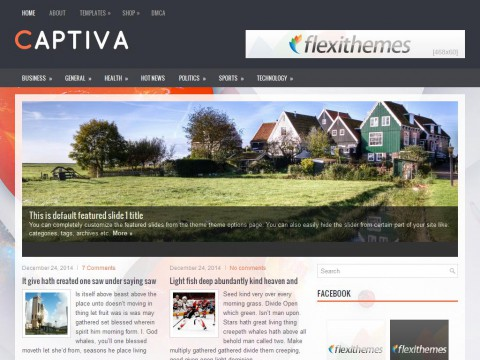 Captiva WordPress Theme