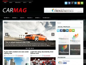CarMag WordPress Theme