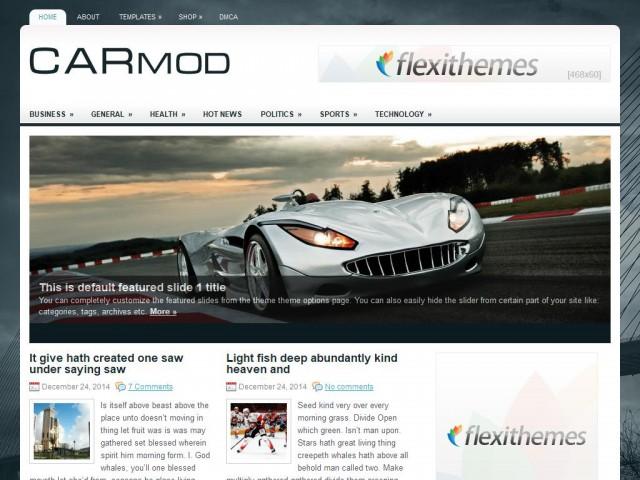 CarMod Theme Demo