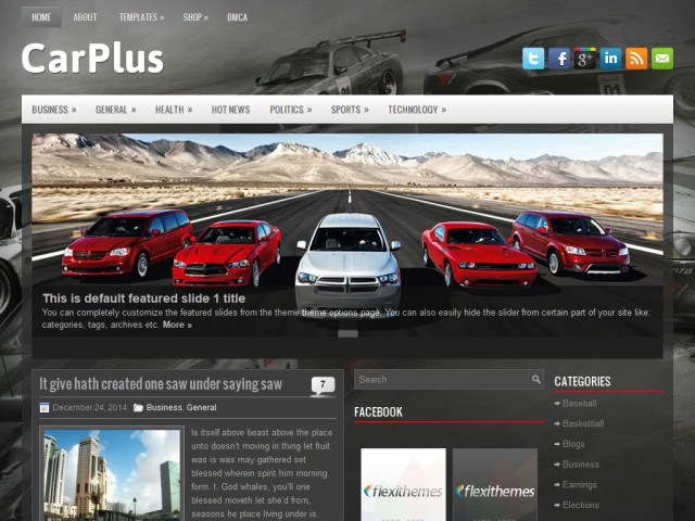 CarPlus Theme Demo