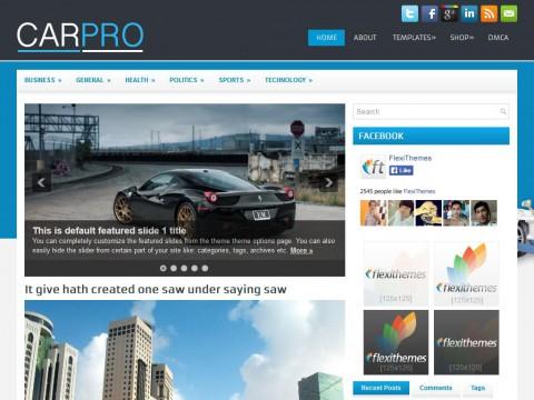 CarPro WordPress Theme