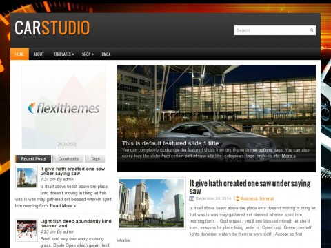 CarStudio WordPress Theme