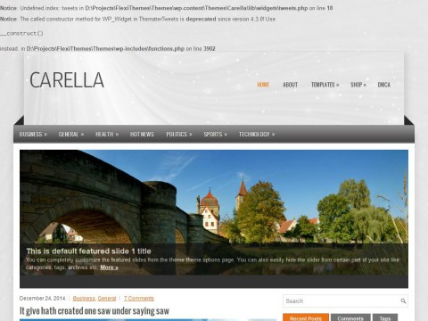Carella WordPress Theme