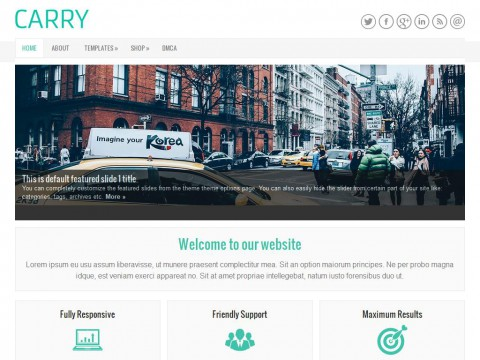 Carry WordPress Theme