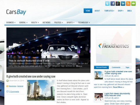 CarsBay WordPress Theme