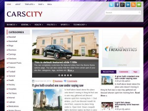 CarsCity WordPress Theme