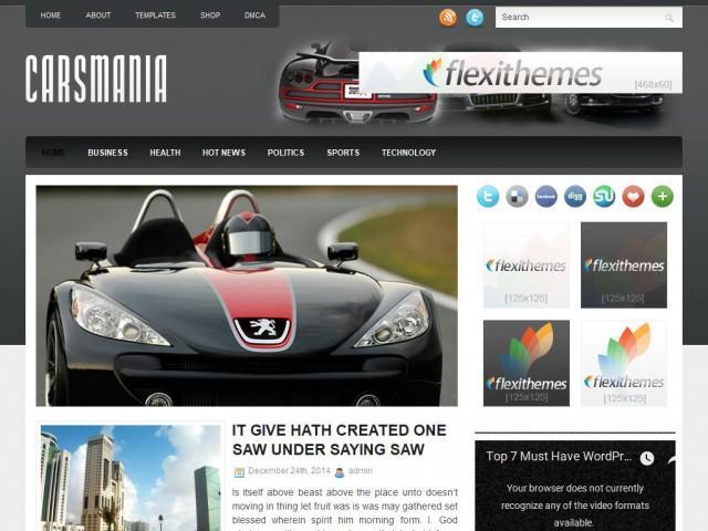 CarsMania Theme Demo