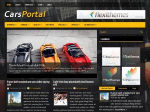 CarsPortal WordPress Theme