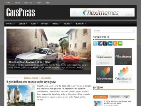 CarsPress WordPress Theme